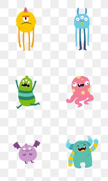Cartoon Alien PNG Images.