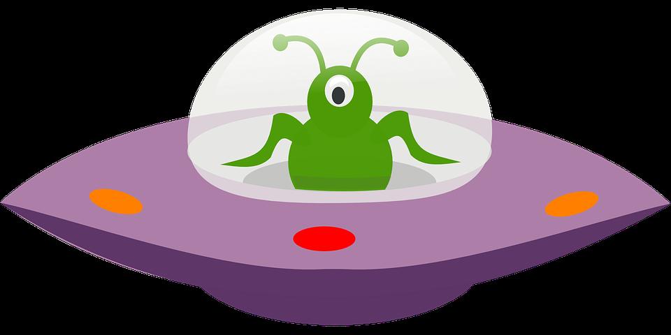 Spaceship Alien Saucer.