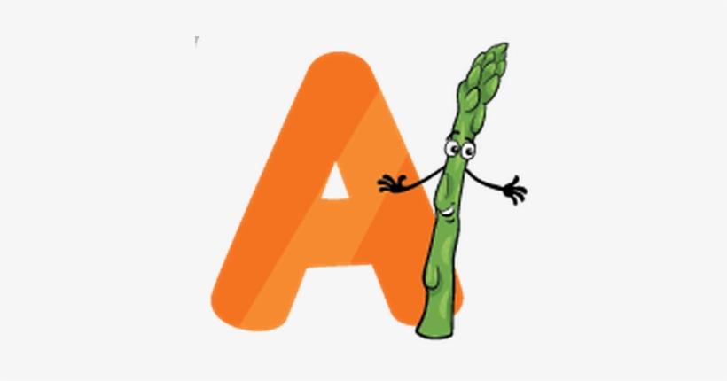 Education Cartoon Alphabet Letters For Kids Clipart.