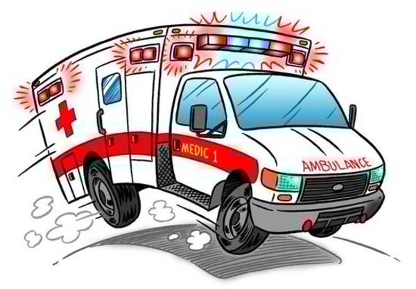 Free Animated Clipart Ambulance.