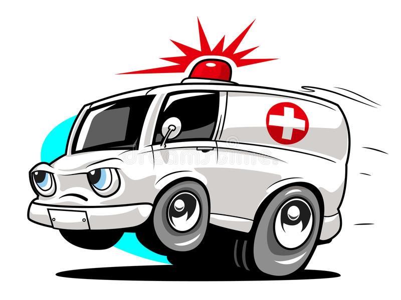 Cartoon Ambulance Stock Illustrations.