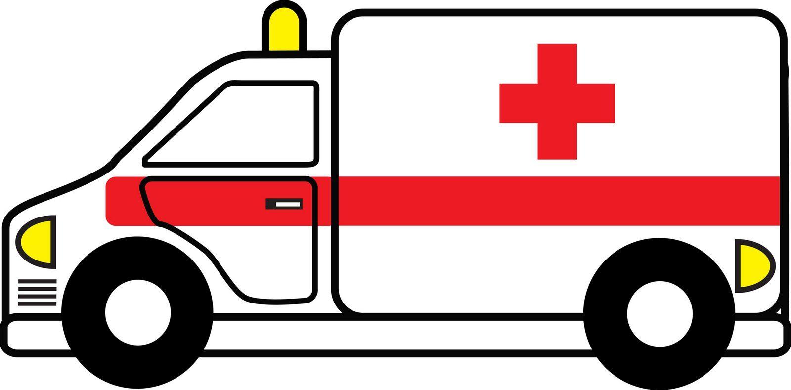 Cartoon Hospital ambluces.