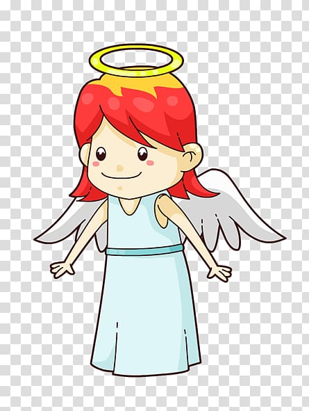 Angel Cartoon Cherub , Cartoon Angel transparent background.