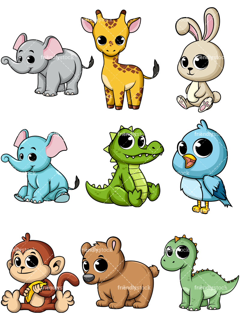 Baby Animals Collection #1.