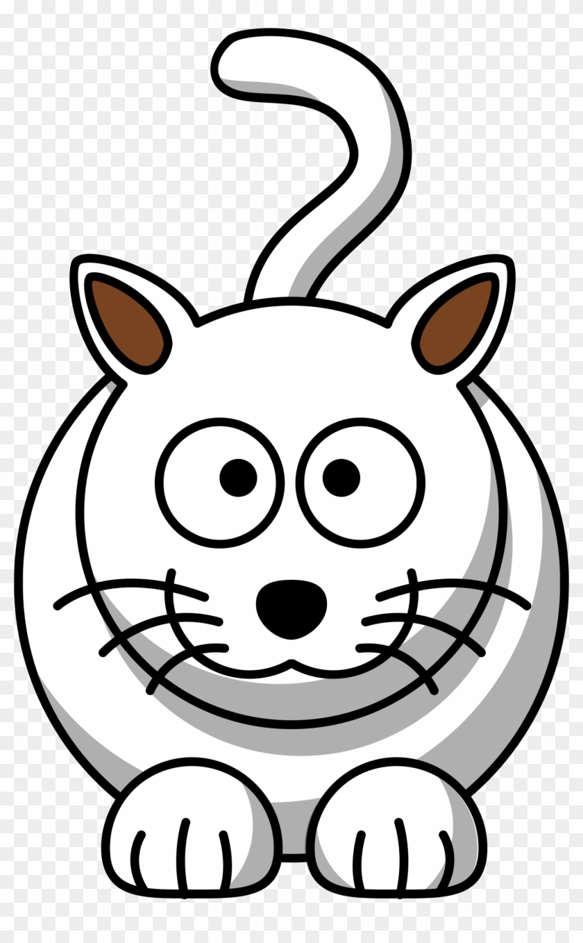White Cat Clip Art Transparent Download.