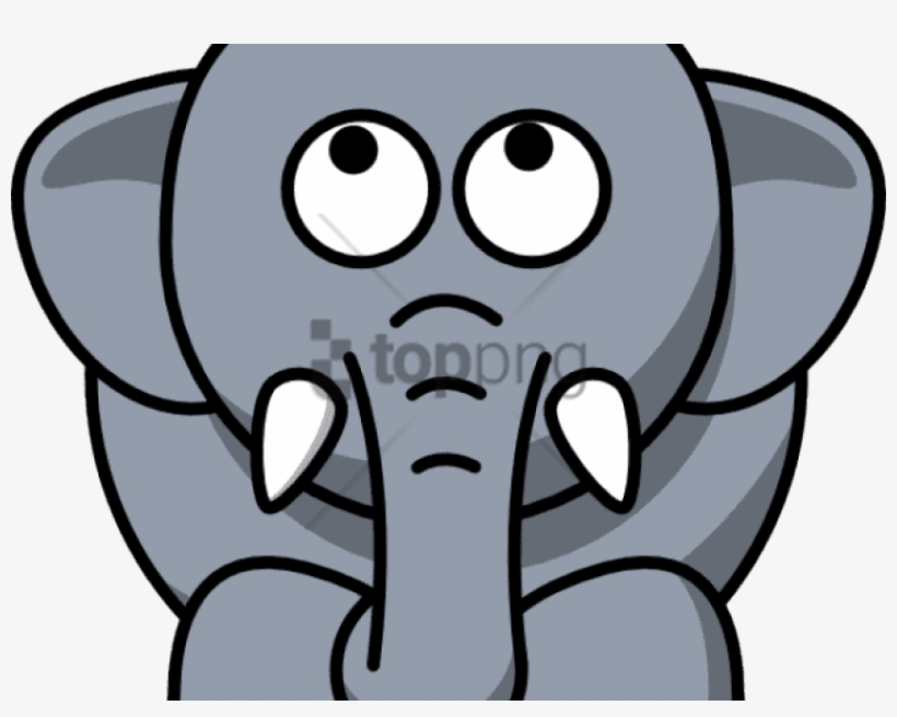 Cartoon Animals Clipart Elephant.