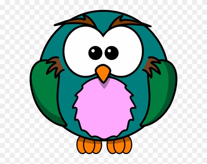 Cute Owl Cartoon.