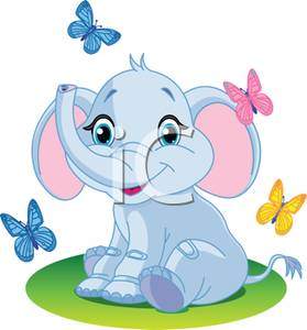 cartoon elephant tattoos.