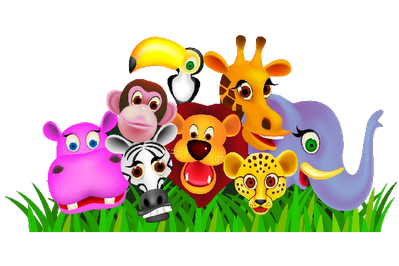 Animal Clipart Free Library Herd Of Animals In The Png.