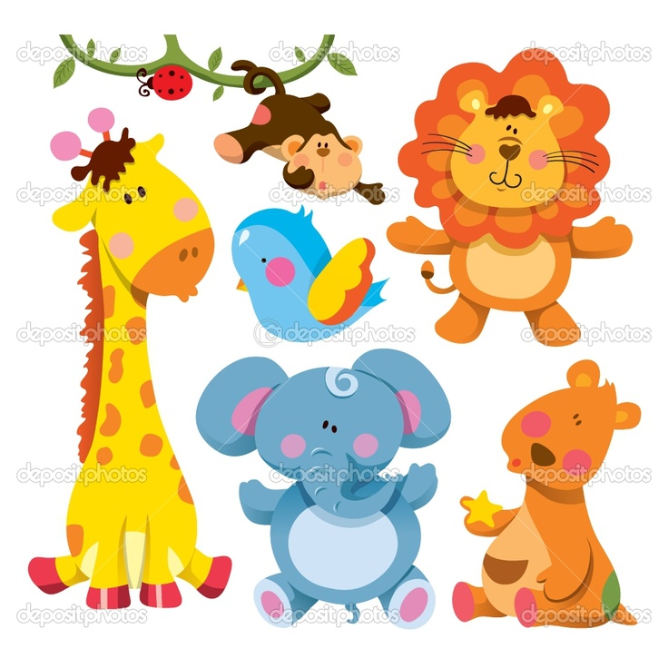 Cartoon Pictures Baby Animals Group with 35+ items.