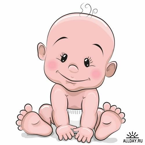 Baby Cartoon Clipart Group with 76+ items.