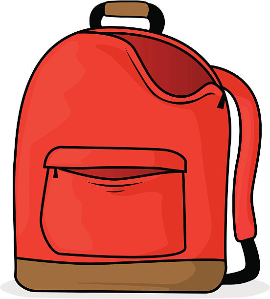 Cartoon backpack clipart 3 » Clipart Station.