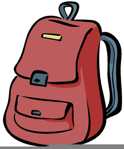 Animated Backpack Clipart.