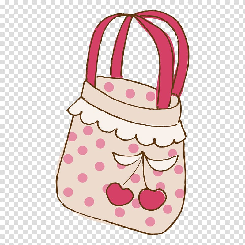 Handbag Cartoon Drawing, Cartoon bag transparent background.