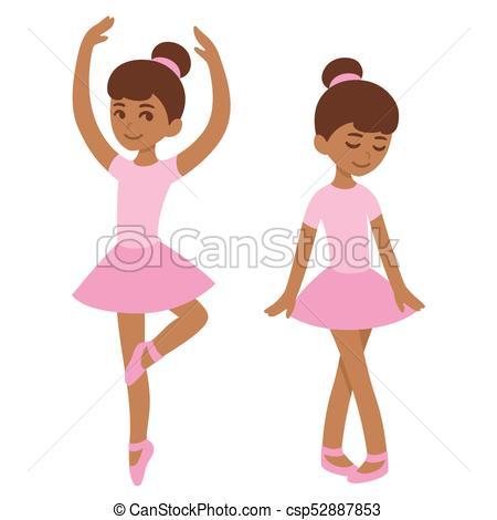 Cute black ballerina.