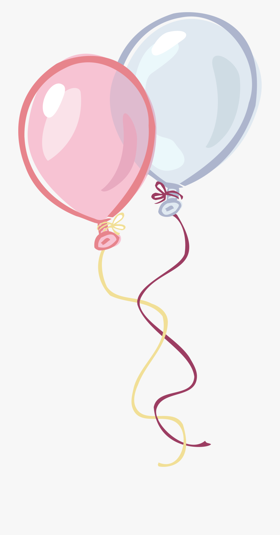 Pink And Blue Birthday.