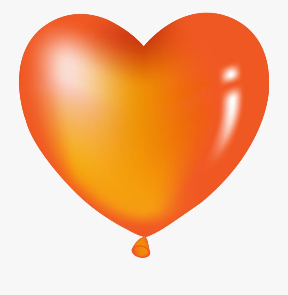 Balloons Png Orange.