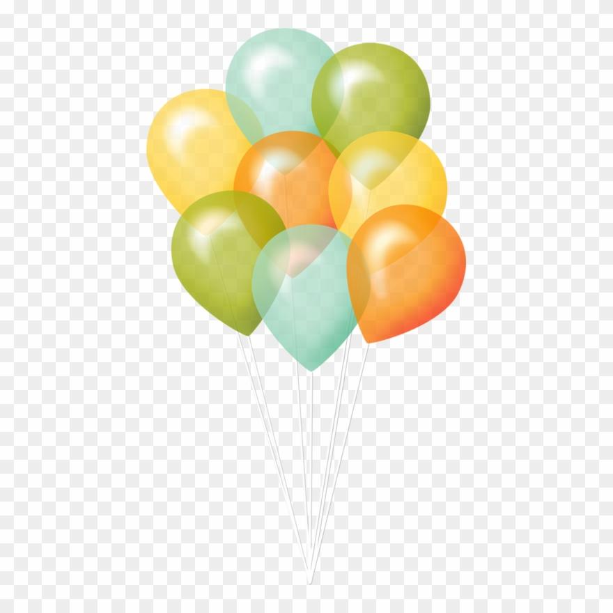 Ballons,globos,balloons Clipart Smiley, Birthday Clips,.