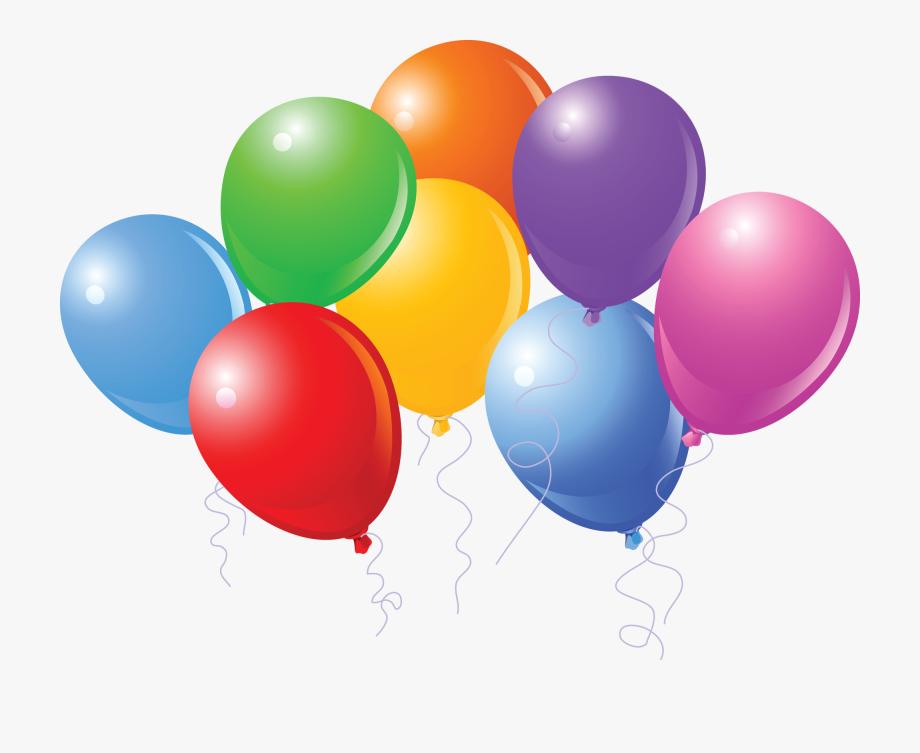 Birthday Balloons Cartoon.
