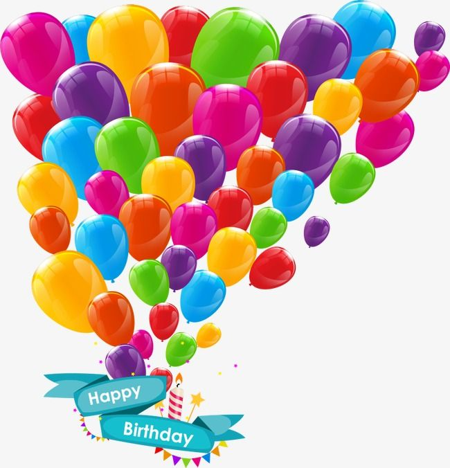 Vector Colorful Balloons, Balloon, Cartoon Balloons, Vector Balloon.