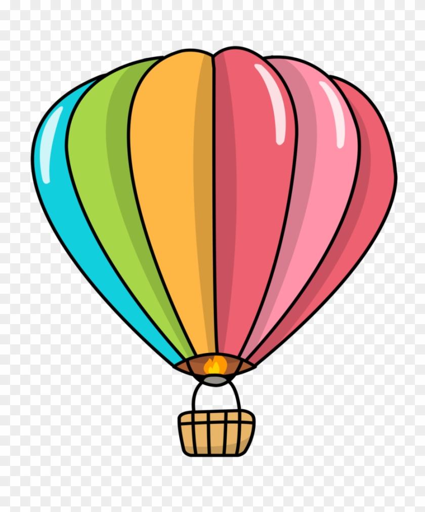 Cartoon Air Balloon Png, Transparent Png.