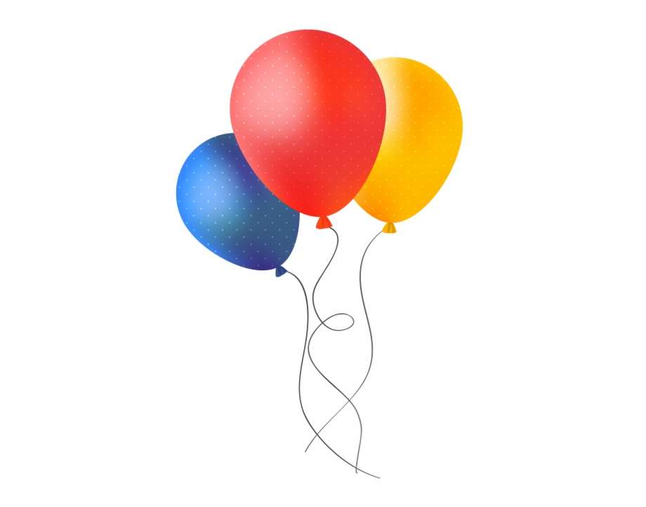 Download Party Balloons Png Image.
