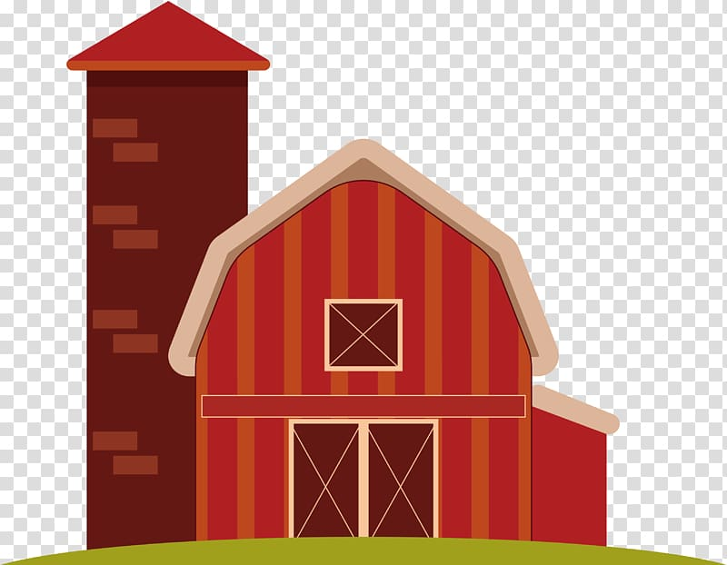 Red barn house , Euclidean Animal Element Agriculture Height.