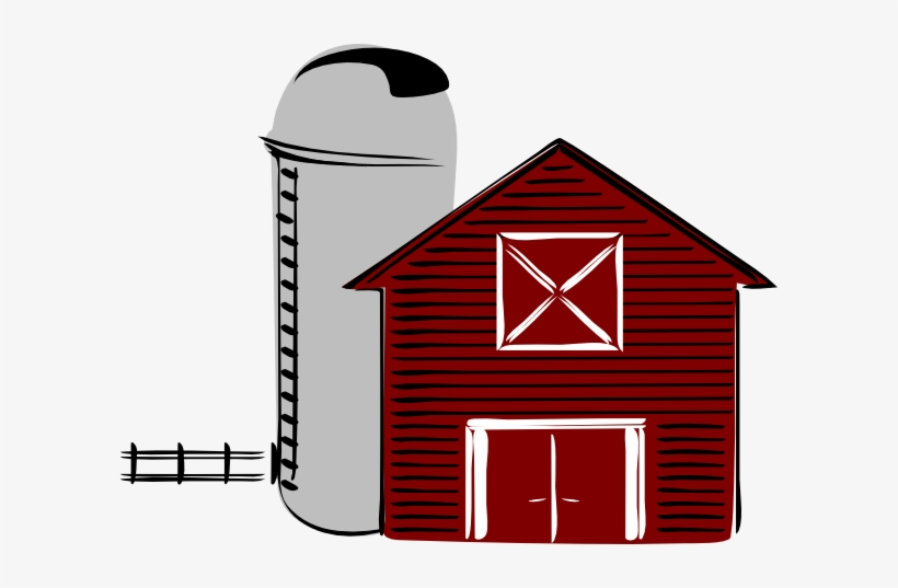 Cartoon Barn Clip Art Along With Cartoon Farm Animals.