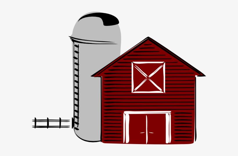 Cartoon Barn Clip Art Along With Cartoon Farm Animals.
