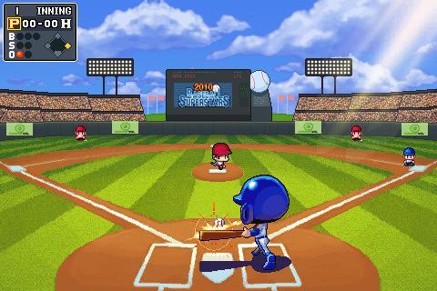 Baseball Field Cartoon.