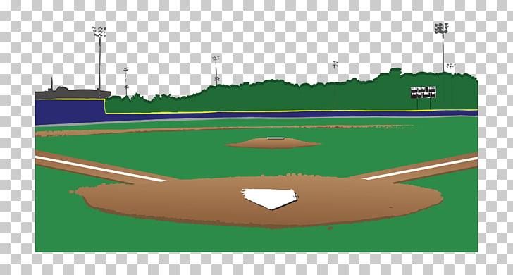 Baseball park Ball game Baseball field Recreation, Cartoon.