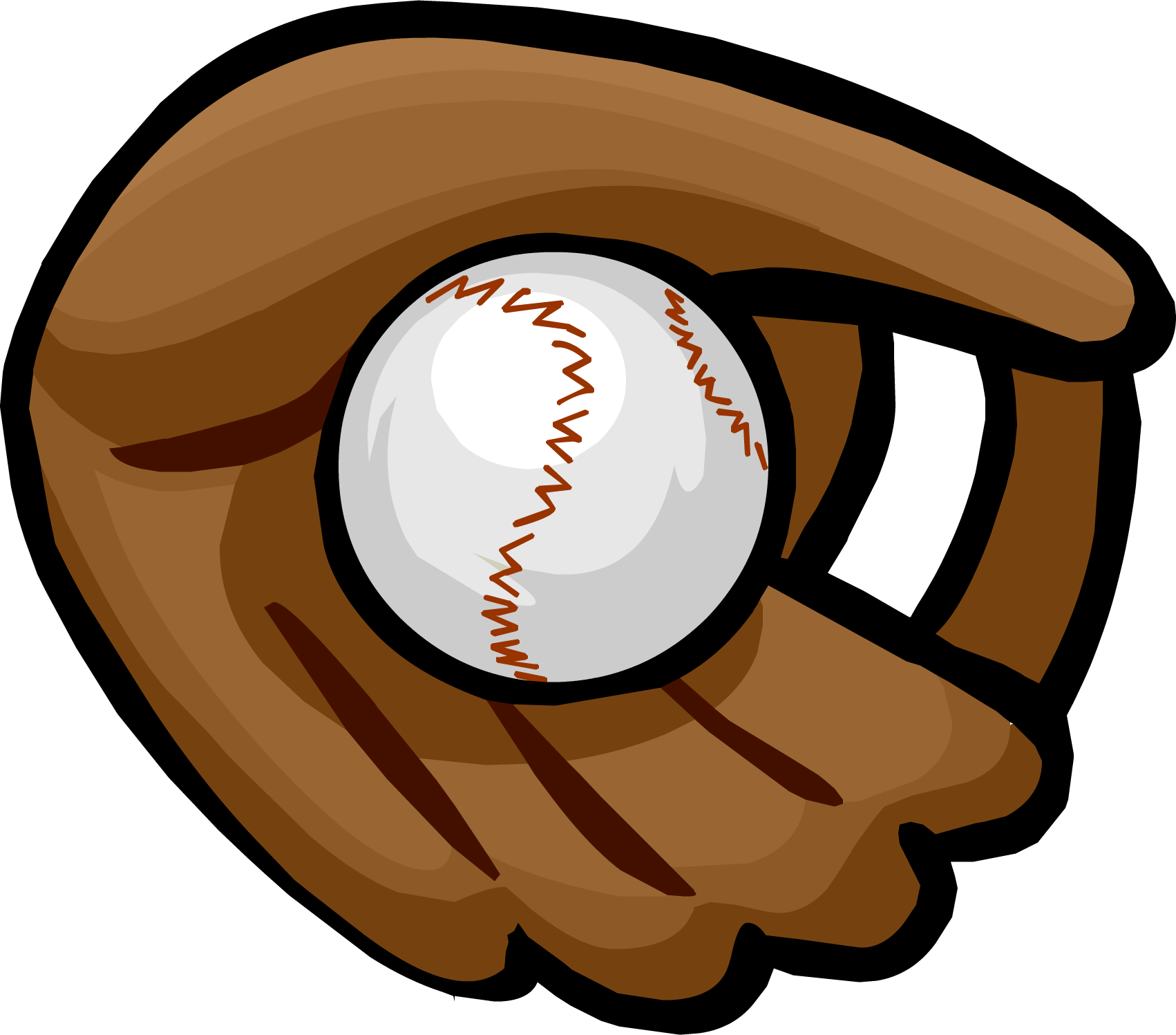 Showing post & media for Cartoon baseball glove and ball.
