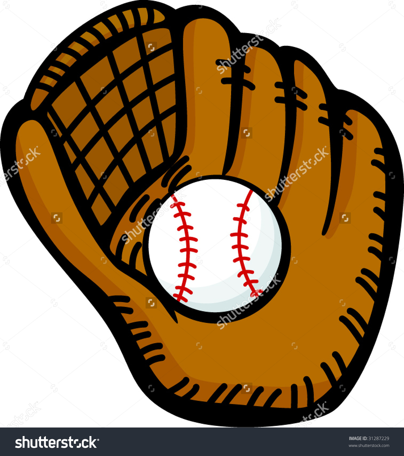 Showing post & media for Cartoon baseball with glove.