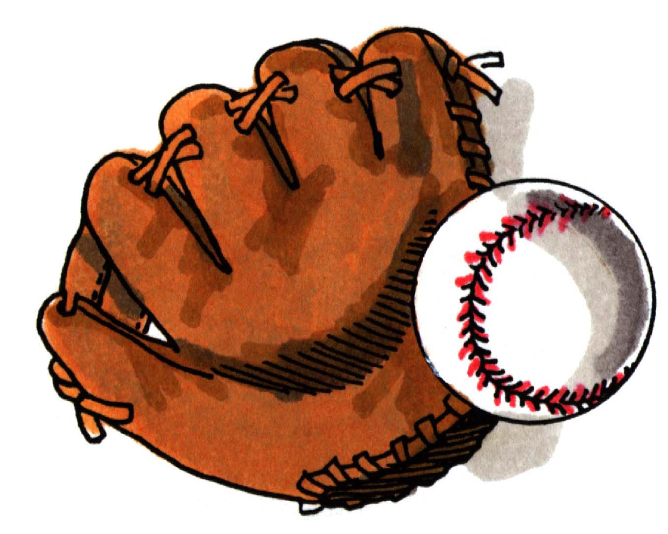 Showing post & media for Red baseball gloves cartoon.