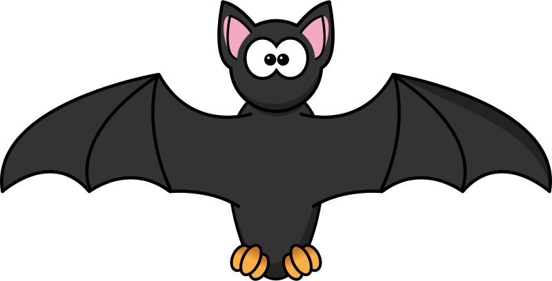Free Clipart: Cartoon Bat.
