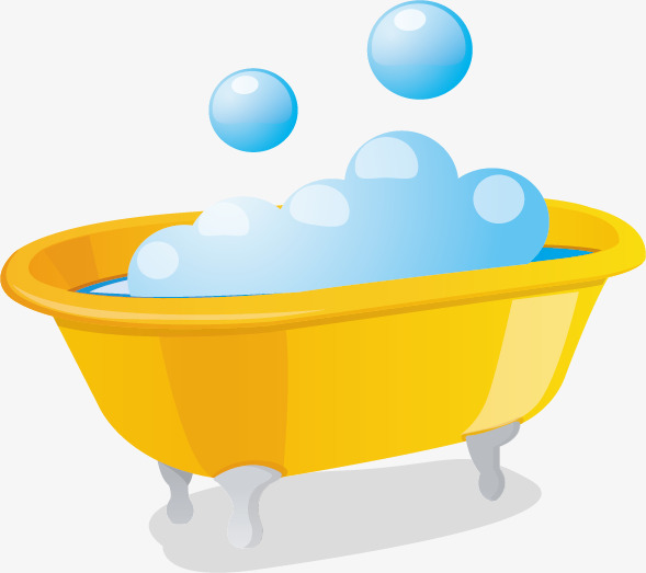 536 Bathtub free clipart.
