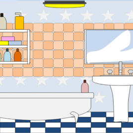 Bathroom clipart cartoon, Bathroom cartoon Transparent FREE.