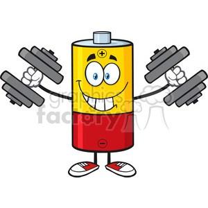 Battery cartoon clipart 1 » Clipart Portal.