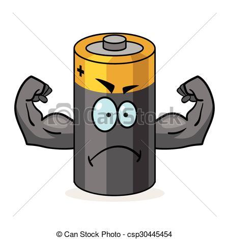 Super Battery Cartoon.
