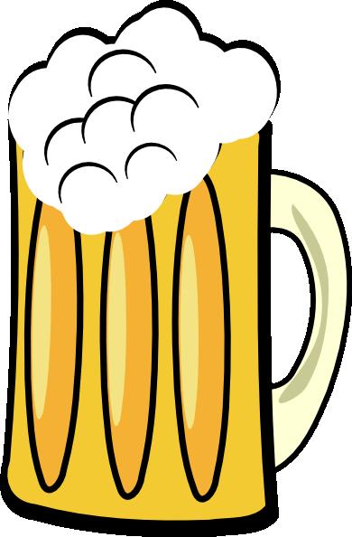 Cartoon Beer Bottle.