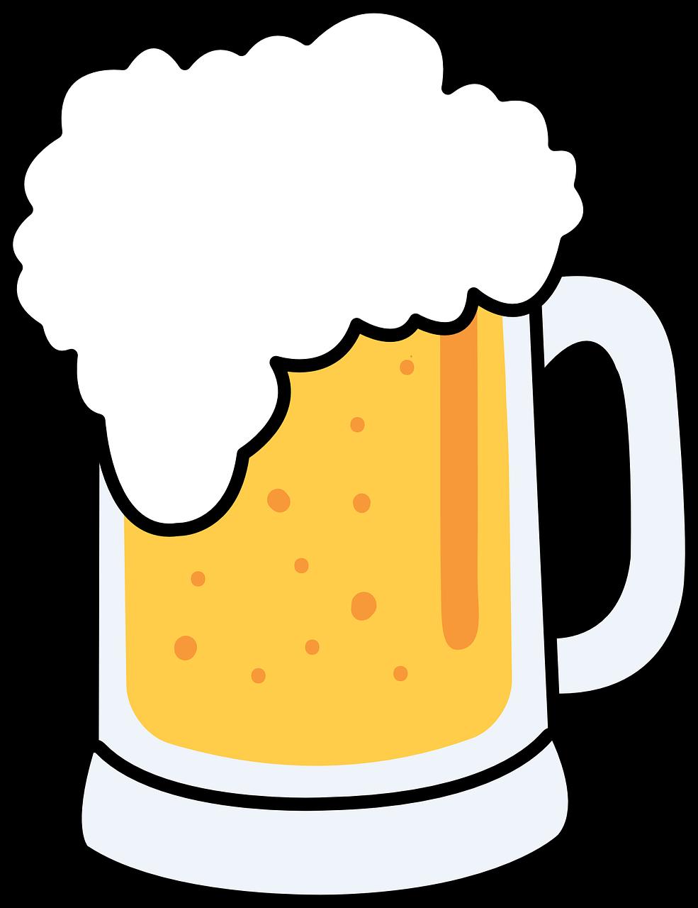 652 Beer Mug free clipart.