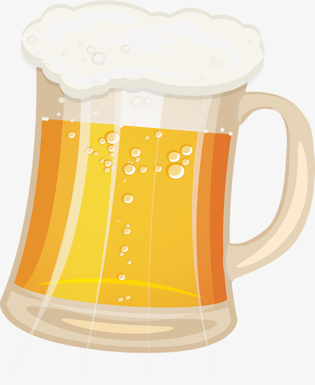 Cartoon Bar, Cup, Draft Beer, Beer PNG and Vector with Transparent.