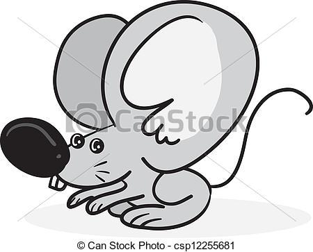 Cartoon big ears clipart.