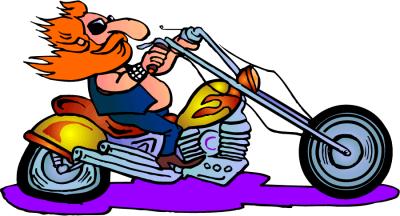 Biker Cartoon Png Vector, Clipart, PSD.