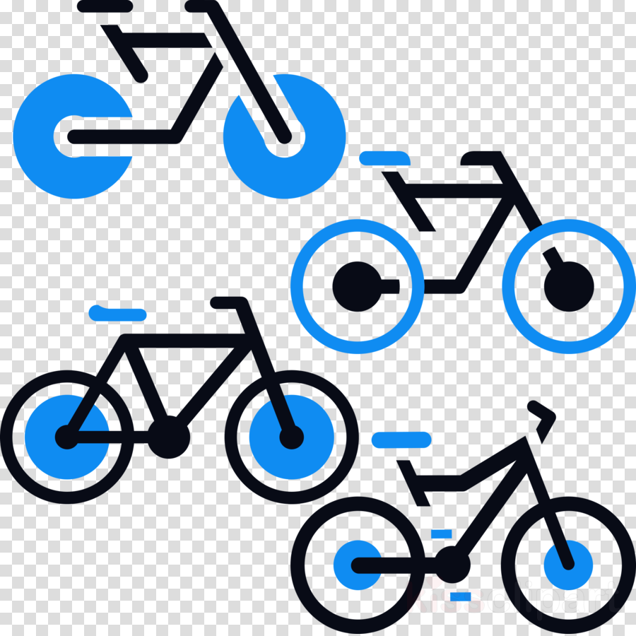 Bike Cartoon clipart.