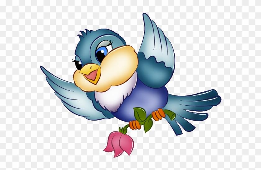 Blue Bird Clip Art Images.