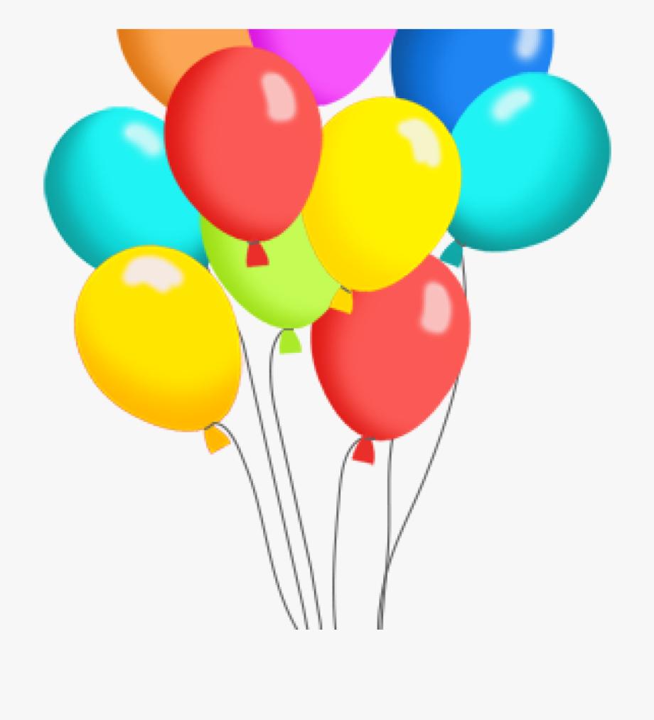 Free Clip Art For Birthday Balloons.