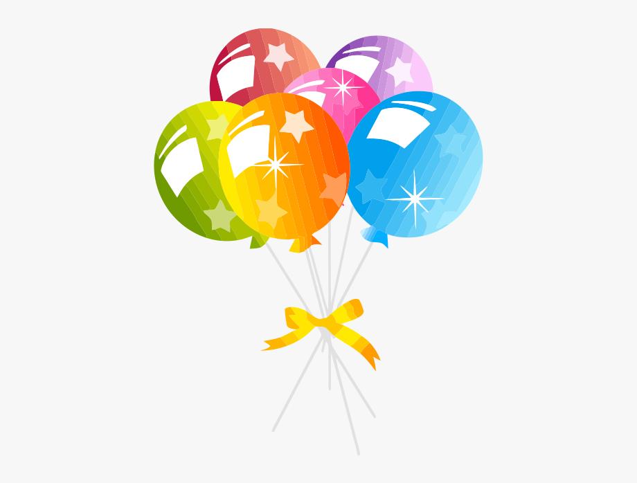 Birthday Balloons No Background #104928.