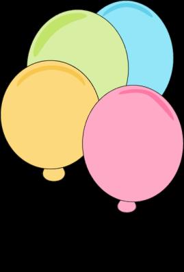 Pastel Balloons.