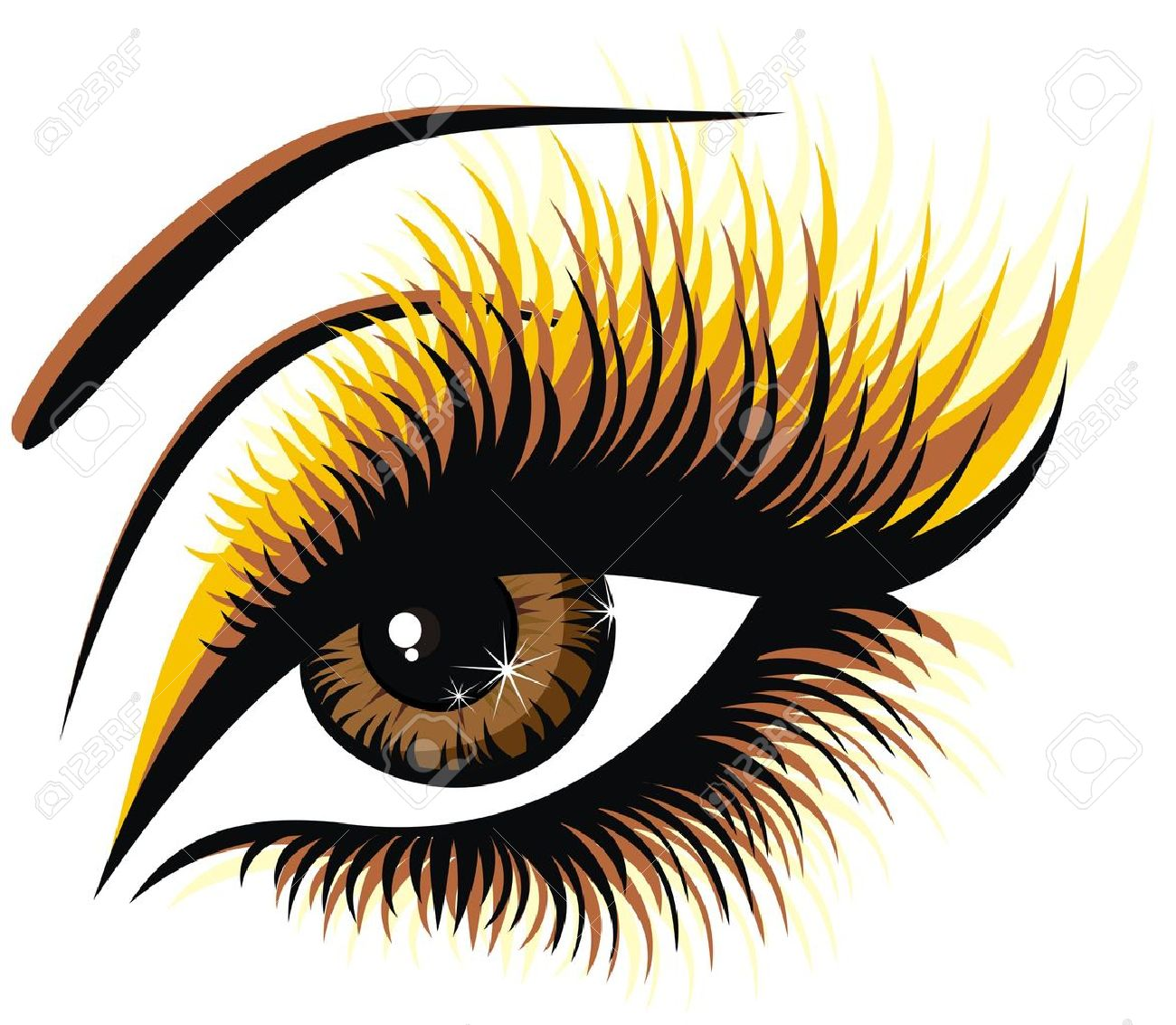 10,474 Eyelash Stock Vector Illustration And Royalty Free Eyelash.